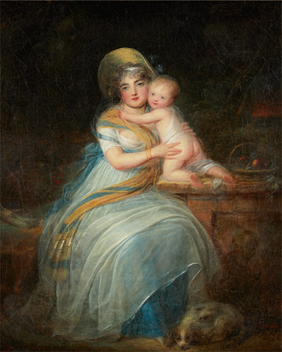 Painting for sale genre scene mother and child louis léopold boilly
